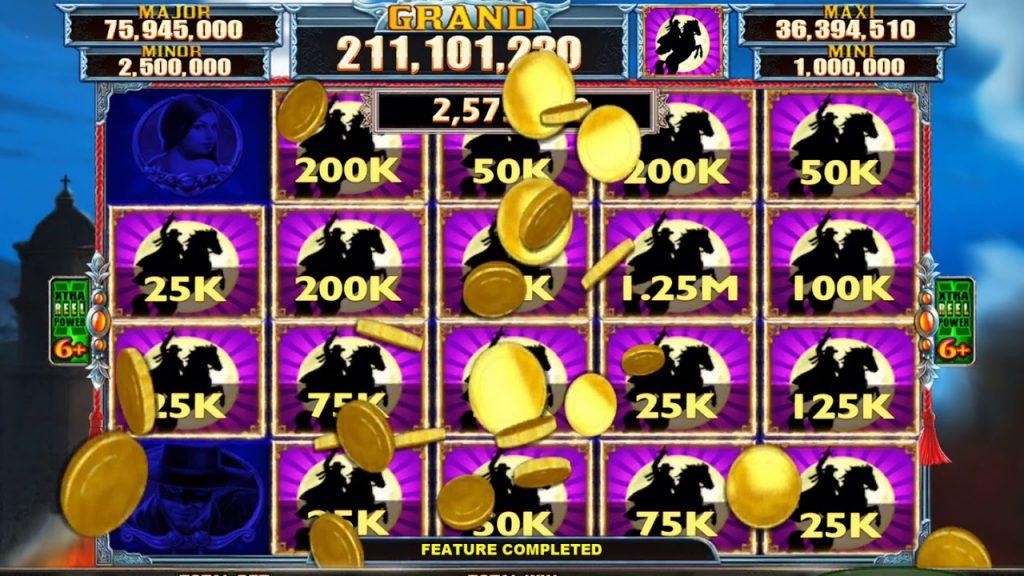 Zorro Mighty Cash win